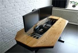 desk wooden computer desk designs wood desk designs plans wood