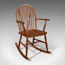 Antique Windsor Rocking Wheel Back Country Chair Edwardian C.1910 ... Windsor Rocking Chair For Sale Zanadorazioco Four Country House Kitchen Elm Antique Windsor Chairs Antiques World Victorian Rocking Chair English Armchair Yorkshire Circa 1850 Ercol Colchester Edwardian Stick Back Elbow 1910 High Blue Cunningham Whites Early 19th Century Ash And Yew Wood Oxford Lath C1850 Ldon Fine