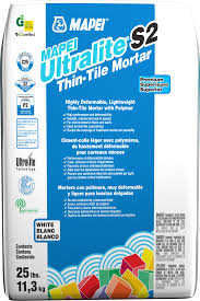 Thin Set Mortar For Porcelain Tile by Mapei Ultralite S2 Lightweight Polymer Modified Mortars Tile