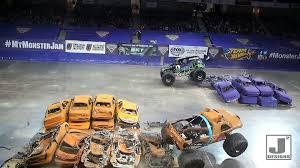 100 Monster Truck Oakland 2015 Jam Gravedigger Highlights Bangor Maine