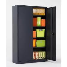 bureau m allique armoire haute métallique grande profondeur ops fr