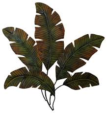 Tree Wall Decor With Pictures by Metal Palm Wall Decor With Palm Tree Leaves Tropical Metal