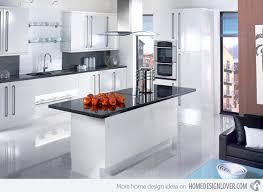 White Black Kitchen Design Ideas by 17 White And Simple High Gloss Kitchen Designs Gloss Kitchen