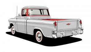 Chevrolet Looks Back At 10 Of Its Most Iconic Pickup Truck Designs 1965 C10 Pickup Truck Fast N Loud Discovery Vintage Chevy Searcy Ar 1950 Chevy Pickup Rear Bumper Photo 5 1957 Chevrolet Lane Classic Cars 2017 Trucks For Sale Kool Its A Truck Shdown At The Detroit Auto Show The Verge Perfect Project 1932 Pressroom United States Images 2018 Silverado 1500 Rsheys 1953 Hersheys Store 1955 Custom Restomod Ls1 V8 For Sale Youtube Used Amazing Wallpapers