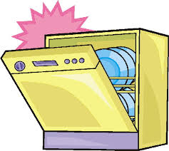 552x494 Dishwasher Cartoon Clip Art Cliparts