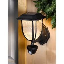 westinghouse hanover solar outdoor pir wall lantern walmart