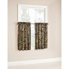 Hunting Camo Bathroom Decor by Mossy Oak Break Up Infinity Camouflage Print Window Kitchen