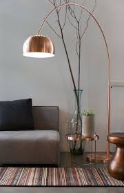 Floor Lamps With Table Attached by Best 25 Copper Lamps Ideas On Pinterest Copper Lighting Copper