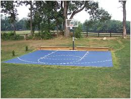 Backyards: Beautiful Basketball Court Backyard Cost. Backyard ... Triyae Asphalt Basketball Court In Backyard Various Design 6 Reasons To Install A Synlawn Home Decor Amazing Recreational Lighting Full 4 Poles Fixtures A Custom Half For The True Lakers Snapsports Outdoor Courts Game Millz House Cost Australia Home Decoration Residential Gallery News Good Carolbaldwin Multisport System Photo Diy Stencil Hoops Blog Clipgoo Modern