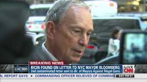 Mayor Bloomberg reacts to ricin letters CNN Video