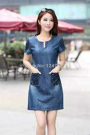 highly recommended 2014 new summer denim dress sale women