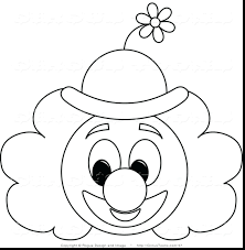 Martin Luther King Printable Coloring Book Brilliant Clown Face Page Pages Preschoolers Jr Sheets Printables Sheet