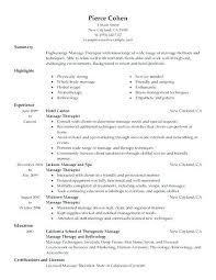 Fitness Manager Sample Resume