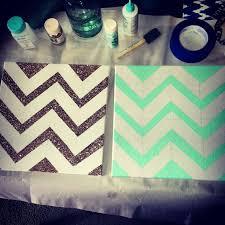 Supreme Ideas About Glitter Chevron Canvas On Pinterest N Art In Diy Tumblr Mydrlynx
