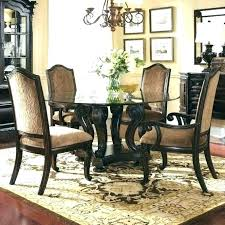 Area Rug Under Dining Table Round Square Size