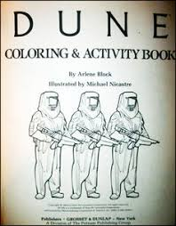 Dune Coloring And Activity Book OMG To Freaking Funny