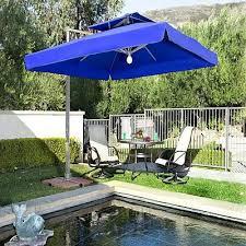 impressive square offset patio umbrella 9x9 square patio umbrella
