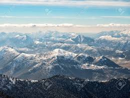 100 Kalavrita Landscape Of Mountains With Snow In Greece Stock Photo