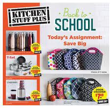 Kitchen Stuff Plus Flyer August 17 to 27