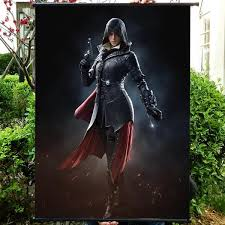 Assassins Creed HD Game Movie Wall Scrolls Poster Bar Cafes Home Decor Banners Hanging