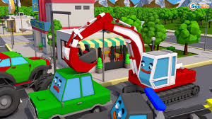 Learn Colors SUV Transportation & Tow Truck W 3D Video For Kids And ...
