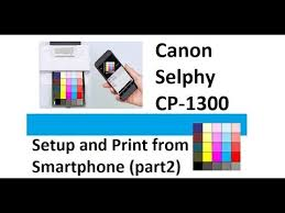 Selphy CP1300 part2 Setup and Print from Smartphone