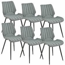 furniture 2x stühle dunkelbraun lehnstuhl esszimmer stuhl