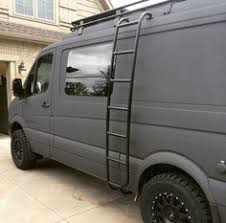 Sportsmobile Sprinter 4x4 Van With Aluminess Ladder And Roof Rack
