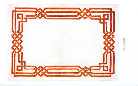 Design Paper Classical Border