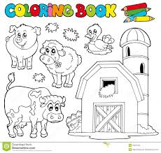 Free Online Farm Animal Coloring Book 74 On Download Pages With