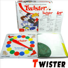 Hot Sale Board Game Twister That Ties You Up In Knots Games Party