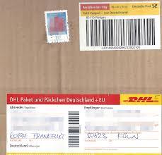 FilePäckchenaufkleber Mit Briefmarke DHL 2015jpg Wikimedia Commons