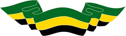 Jamaica Flag PNG Transparent Image