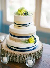 Navy Blue Rustic Wedding Cake Inspired By This Military At Pippin Hill