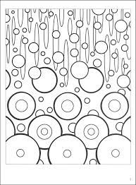 Awesome Abstract Design Coloring Pages Book For KIDS