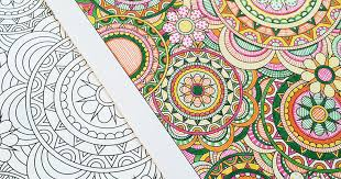 Flower Designs I Create Coloring Books To Stimulate Creativity