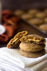 Pumpkin Cheesecake Snickerdoodles by A Sugar Cookie Recipe Stuffed With Pumpkin Cheesecake Food Faith