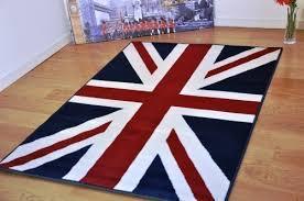 British Carpet by Medium Large Funky Retro Modern Union Jack Rug British Flag Design