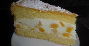 käsesahne torte mit pfirsichen einfach und lecker