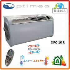 climatisation réversible sans groupe extérieur opo 10 r optimeo 2410 w