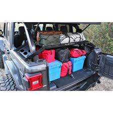 Fabtech FTS24211 Wrangler JL Interior Cargo Rack Hard Top 4-Door ...