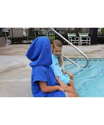 Cor Surf Accessories Childrens Unisex Changing Poncho Towel Robe For Ages 3 8