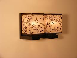 lombardia wall sconce lights wenge brown wooden frame