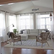 sunroom with kivik byholma chairs ritva curtains