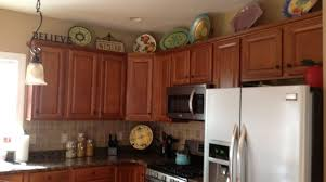 Top Cabinet Decorating Ideas Decor Kitchen House