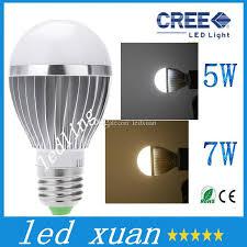 led shipping high power cree 5w 7w led globe bulb e27 e14 gu10 b22
