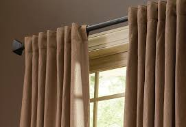 Spring Tension Curtain Rods Home Depot by How To Choose The Right Drapery Hardware At The Home Depot