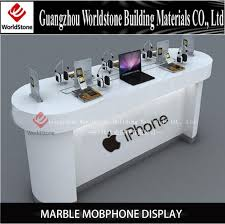 Artificial Stone Iphone Display Counter puter Kiosk Booth Buy