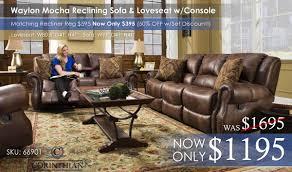 Hogan Mocha Reclining Sofa Loveseat by Living Room Sets U2013 All American Mattress U0026 Furniture