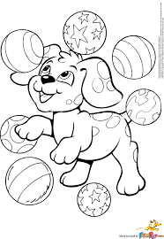 Dog Puppies Love Coloring Pages Ok Pictures Page Of A Puppy To Print